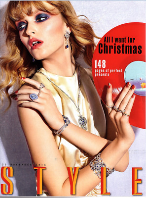 THE SUNDAY TIMES STYLE Magazine Nov 20 2016 - 148 Page Christmas Special