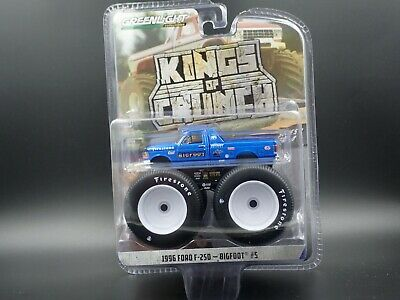Greenlight 1996 Ford F250 Bigfoot #5 Monster Truck 1:64 Scale Kings Of Crunch 4