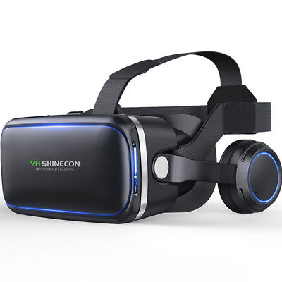 3D IMAX Video VR Glasses Virtual 2.0 Goggles Reality Headset For Smartphone IO