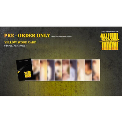 Stray Kids - Special Album Cle 2: Yellow Wood Pre-Order Yellow Wood Card