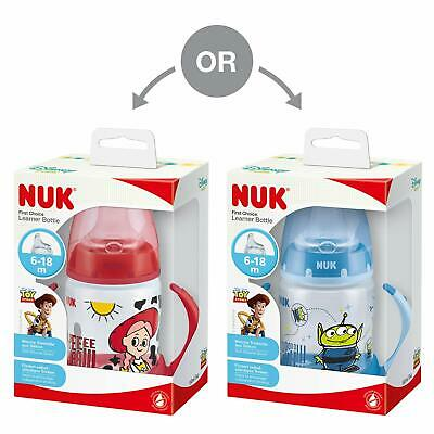 Nuk First Choice Sippy Cup Bottles Mickey Minnie Mouse Toy Story Winnie The Pooh
