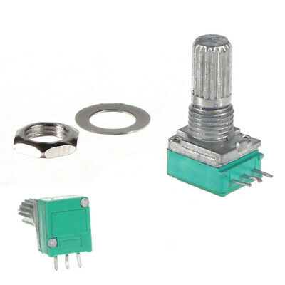 2X(Linear Rotary Pot Potentiometer With Nut & Spacer U8N9)