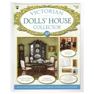 Victorian Dolls' House Collector Magazine No.49 MBox40 Make a Footstool