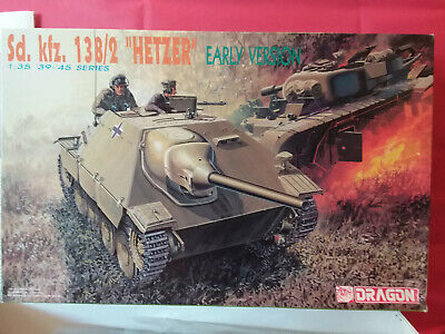 """Dragon Superbe Sd.kfz.138/2 """"Hetzer""""Early Version ~1/35 Neuf Kit Maquette"""