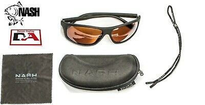 Nash Sunglasses Polarized Shatterproof with Lanyard and Cloth UV Protection