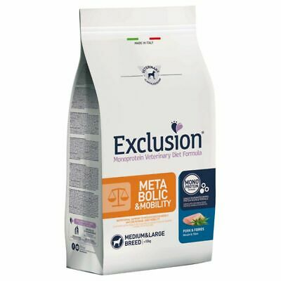 Exclusion Diet Metabolic And Mobility Pork M/L 12.5 Kg