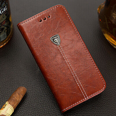Vintage Leather Wallet Phone Case Flip Cover for iPhone XS Max XR X 8 7 6 6sPlus