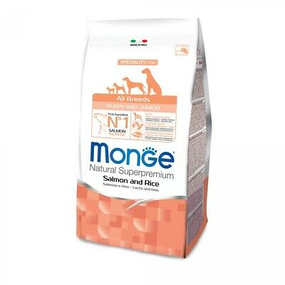 ALIMENTO CANI PUPPY MONGE SALMONE RISO 800 GR x 6