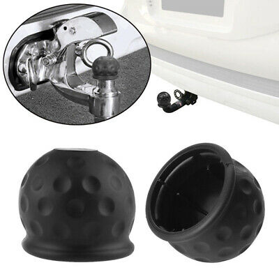 BH_ 50mm Tow Bar Ball Cover Hitch Caravan Trailer Towball Protecting Cap Salable