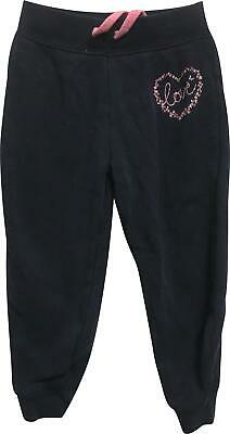 PRE-OWNED Girls Young Dimension Navy Jogger Trousers Size 2-3 Years