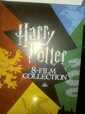 Harry Potter: Complete 8-Film Collection 8 DISK DVD SET FROM TARGET W/PATCH.