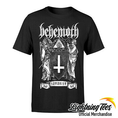 Official Behemoth Satanist Rock Band T-Shirt