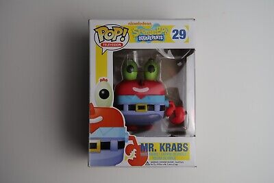 Funko Pop! Television Nickelodeon Spongebob Squarepants Mr. Krabs #29 Valuted