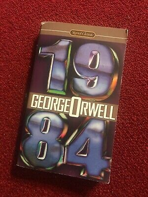 1984 (Signet Classics) by George Orwell, Mass Market Paperback - RARE COVER