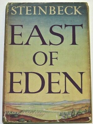 EAST OF EDEN! John Steinbeck(FIRST EDITION/FIRST PRINTING!!)1952 BITE RARE! GIFT