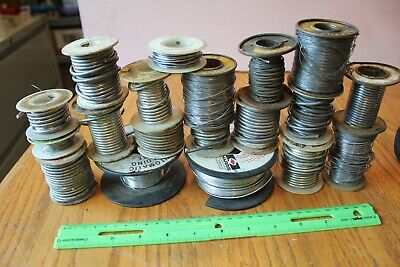 Lot of Solder Soldering Wire apx 9.6 lbs Alpha Silvabrite Cen-Tri-Core Taramet +