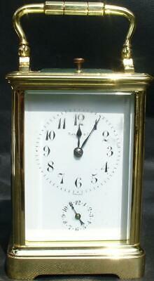 Charles Hour Paris For Tiffany & Co Grand Sonnerie Repeater 8 Day Carriage Clock