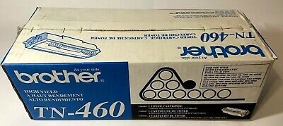 OEM Brother TN-460 High Yield Replacement Black Toner Cartridge New Ship Overbox