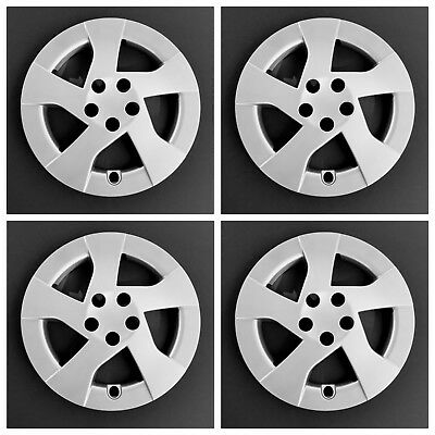 """New 2010 2014 Fits Toyota Prius 15"""" Silver Wheel Covers Hubcaps Set of Four"""