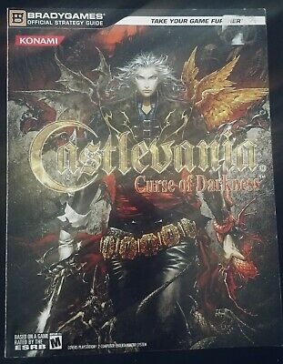 Castlevania Curse of Darkness Official Strategy Guide Playstation 2 Xbox Rare