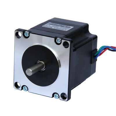 Nema 23 CNC Stepper Motor 2.8A 178.5oz.in/1.26Nm CNC Stepping Motor DIY CNC Mill