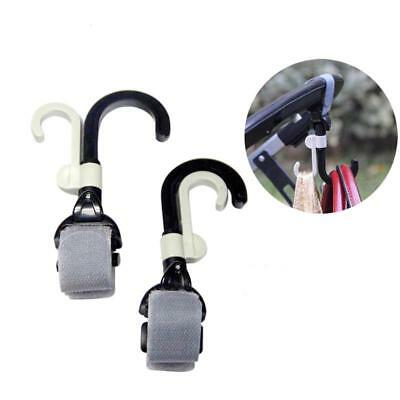 Baby Stroller Hook Pushchair Clip Holder Strap Bottle Hanger Handle Bar Bag