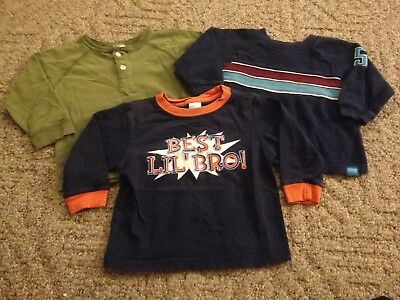 Toddler boy 3-piece lot Old Navy long-sleeved shirts size 12-18 months