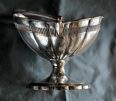 Adam Period Old Sheffield Fusion Plate Neo-Classical Sweetmeat Basket c. 1795