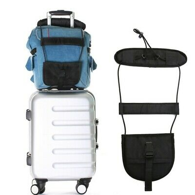 Bag Bungee Luggage Carrier Strap Outdoor Travel Luggage Suitcase Adjustable Belt