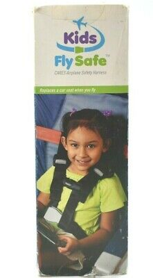 Kids Fly Safe Cares Airplane Safety Harness Children 22-44lbs in Own Seat Belt