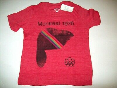 Baby Gap Olympic 3 Years Red Montreal 1976 T-Shirt NWT