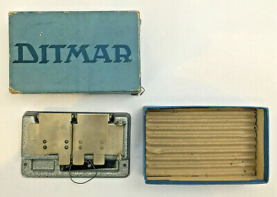 Vintage Ditmar Film Splicer With Original Box