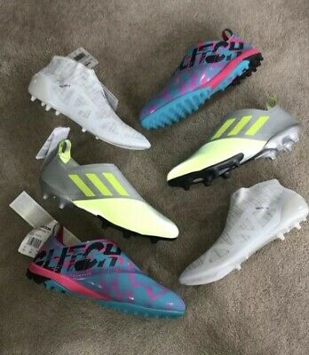 ADIDAS GLITCH STARTER Pack RARE Football Boots FG TF (CAGE