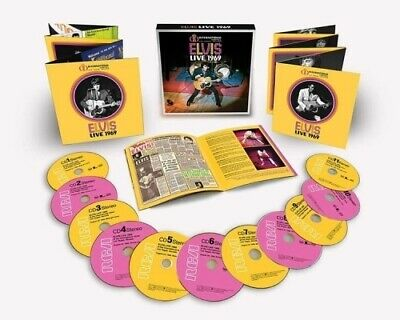 Elvis Presley - ELVIS LIVE 1969 Deluxe 11 CD Boxset new limited