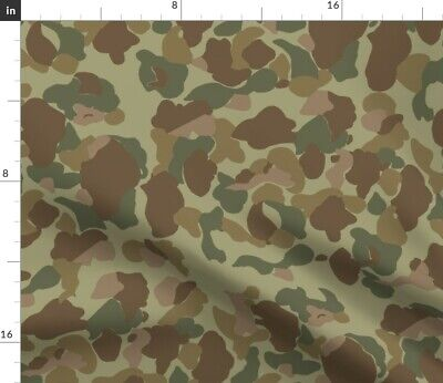 Camo Us Army Usmc Jungle Woodland Fabric Printed by Spoonflower BTY