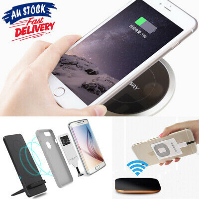 For iPhone 5s 6 6s 7 Plus Module Receiver Card Charger Wireless Charging Mat Qi