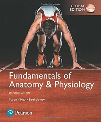 Fundamentals of Anatomy and Physiology 11E By Frederic H. Martini 9781292229867