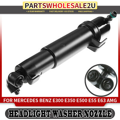 For MERCEDES E-Class W211 2007-2009 Headlight Washer Nozzle Cylinder-LEFT SIDE