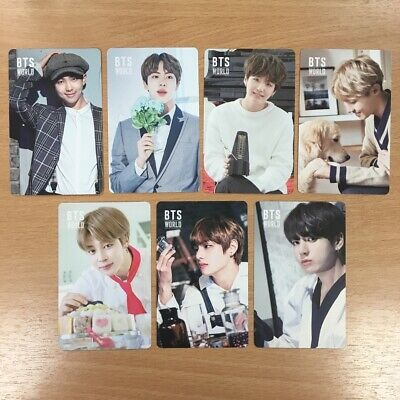[Official] BTS World Soundtrack Double-Sided Photocard: Set of 7