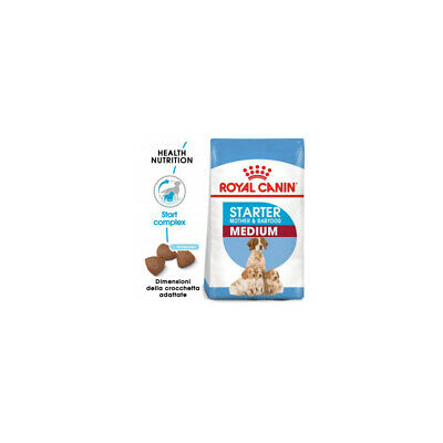Royal Canin Perro Medio Starter Mother y Heavy Petting 12KG