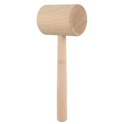 Wood Hammer Leather Carving Hammer Printing Tool Diy Craft Cowhide Punch Se I3K7