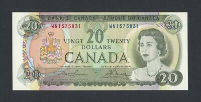 20 Dollars 1969 Bank Of Canada UNC