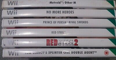 Bundle/Joblot of 6 Nintendo Wii Action Games - Preowned - Fast Dispatch