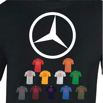 Mercedes Benz T-SHIRT Motorsport Top Mens Racing Gift MotoGP Fan Best Tee Car