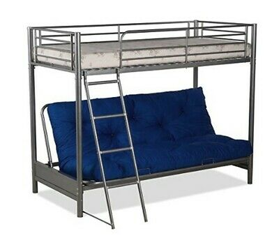 Groovy Metal Bunk Bed Frame With Futon Single Bed Double Bed Sofa Machost Co Dining Chair Design Ideas Machostcouk