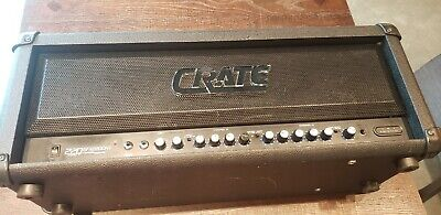 Crate Gfx-2200Ht Channel Tracking Usa Made 220 Watt Amplifier Head Tested Works