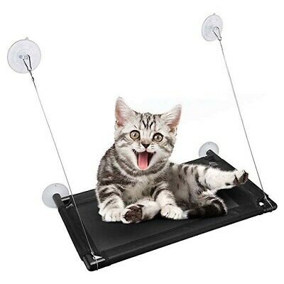 Cat Window Perch, 4 Ultra Heavy Duty Suction Cups Cat Bed Holds Up to 60lbs