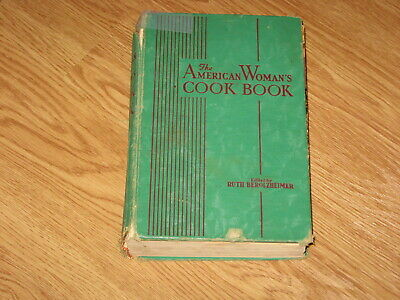 77660 BEROLZHEIMER from the DELINEATOR 1942 AMERICAN WOMAN'S COOK BOOK RECIPES