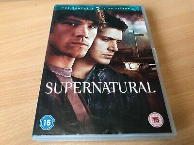 BOXED -- Supernatural - The Complete Third Season  DVD