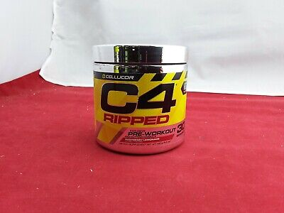 CELLUCOR C4 RIPPED Pre Workout Fat Burning Formula AKG Alanine